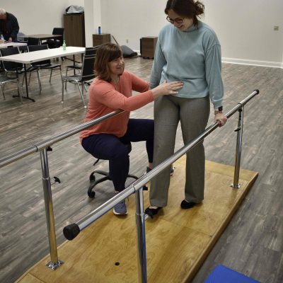 Therapy with Kristin Zwemer at Harmony in Motion